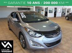 Hyundai Elantra SE**Intérieur en cuir** 2014