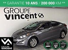 Hyundai Elantra SPORT **GARANTIE 10 ANS** 2014