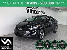 Hyundai Elantra LIMITED **GARANTIE 10 ANS** 2014