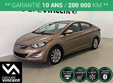 Hyundai Elantra SE **GARANTIE 10 ANS** 2015