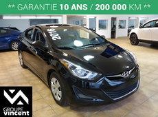 Hyundai Elantra L**GARANTIE 10ANS** 2016