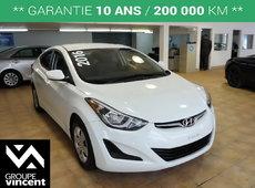 Hyundai Elantra LE**GARANTIE 10ANS** 2016