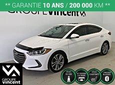 Hyundai Elantra LIMITED **GARANTIE 10 ANS** 2017