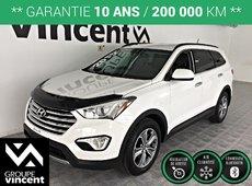 Hyundai Santa Fe XL 7 PASSAGER **GARANTIE 10 ANS** 2015