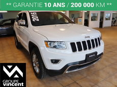 Jeep Grand Cherokee LIMITED**GARANTIE 10 ANS 200 000KM** 2016
