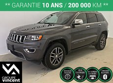Jeep Grand Cherokee LIMITED AWD **GARANTIE 10 ANS** 2017