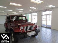 Jeep Wrangler Unlimited Sahara **UNLIMITED** 2014