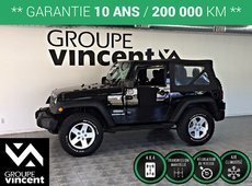 Jeep Wrangler SPORT TRAIL RATED 4X4**GARANTIE 10 ANS** 2011