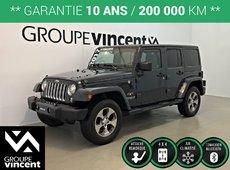 Jeep Wrangler UNLIMITED SAHARA 4X4 ** GARANTIE 10 ANS ** 2017