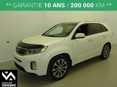 Kia Sorento SX V6 AWD GPS CUIR TOIT**GARANTIE 10 ANS** 2015