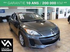 Mazda Mazda3 GX**CLIMATISEUR** 2013