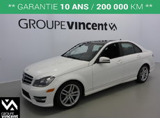 Mercedes-Benz C-Class C300 4MATIC TOIT PANO **GARANTIE 10 ANS** 2014