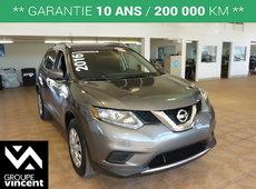 Nissan Rogue S AWD**GARANTIE 10 ANS** 2016
