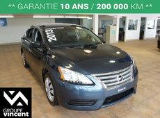 Nissan Sentra S**GARANTIE 10 ANS** 2013