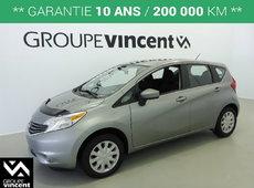 Nissan Versa Note S**GARANTIE 10 ANS** 2015