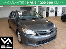 Toyota Corolla CE**GARANTIE 10 ANS** 2013