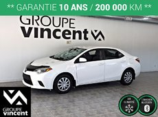 Toyota Corolla CE A/C AUTO **GARANTIE 10 ANS** 2014