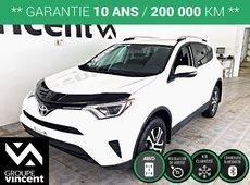 Toyota RAV4 LE **CLIMATISATION BI-ZONE/ AWD/ VITRES TEINTÉES** 2016