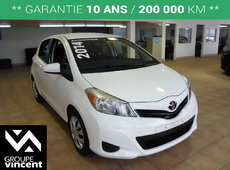 Toyota Yaris LE**GARANTIE 10 ANS** 2014