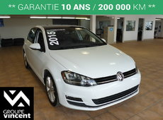Volkswagen Golf HIGHLINE**GARANTIE 10 ANS** 2015
