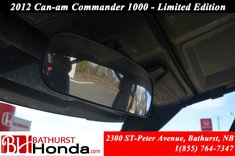 2012 Can-Am commander 1000 - Limited Edition