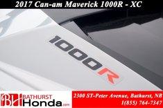 2017 Can-Am MAVERICK 1000R - XC