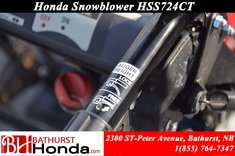 2012 Honda Power Equipment HSS724TC Snowblower