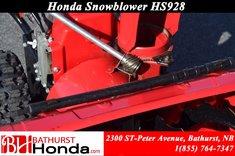Honda Power Equipment HSS928 Snowblower 2006