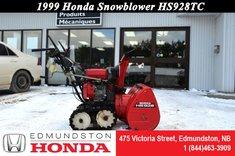 1999 Honda HSS928TC Snowblower