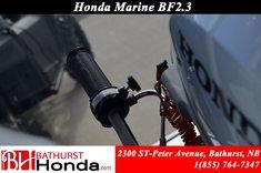 2017 Honda Outboard BF2.3 Marine Engine