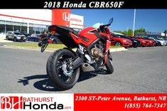 2018 Honda CBR650