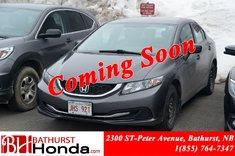 Honda Civic Sedan DX 2014