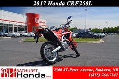 2017 Honda CRF250L