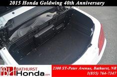 2015 Honda Gold Wing 40th Anniversary