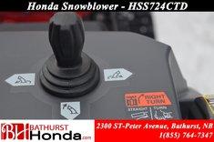9999 Honda HSS724TCD
