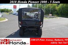 2018 Honda Pioneer 1000 5 seats