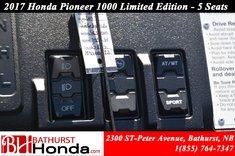 Honda Pioneer 1000 Limited Edition - 5 seats 2017