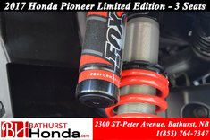 2017 Honda Pioneer 1000 Limited Edition - 3 seats
