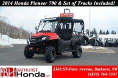 2014 Honda Pioneer 700 4 Seats
