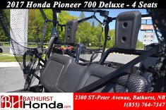 Honda Pioneer 700 Deluxe - 4 Seats 2017