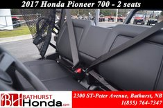 2017 Honda Pioneer 700 Deluxe - 2 Seats