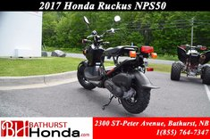 2017 Honda Ruckus NPS50