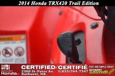 Honda TRX420 Trail Edition! 2014