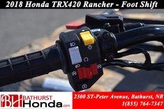 2018 Honda TRX420 Rancher