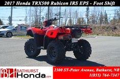 2017 Honda TRX500 IRS - EPS