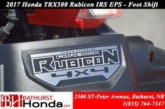 Honda TRX500 IRS - EPS 2017