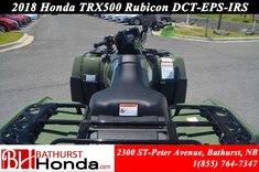 2018 Honda TRX500 Rubicon DCT-EPS-IRS