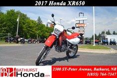 Honda XR650L  2017