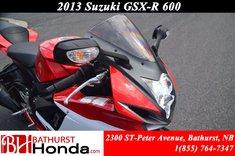 Suzuki GSX-R 600 2013
