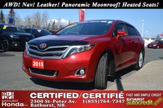 Toyota Venza Limited - AWD 2015